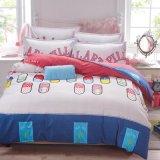 Nova chegada banheira venda preço barato conjunto de roupa de cama impressos de poliéster