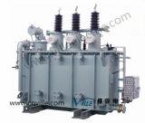 trasformatore di potere di serie 35kv di 5mva S11 con sul commutatore di colpetto del caricamento