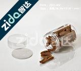250ml borran el tarro plástico con la cápsula ancha de la boca