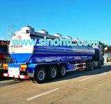 Dell'Tri-Asse dell'autocisterna rimorchio liquido chimico del camion semi (HTC9400GHY)