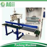 empaquetadora del arroz 50kg con el transportador de correa y la máquina de coser