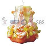 Verkaufs-Blumen-geformte duftende Kerzen