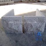 G603 vlamde de Lichtgrijze Steen van de Paddestoel van het Graniet voor de Hoek van de Muur het Opgepoetste Vloeren van de Tegels van de Muur