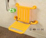 Chaise de douche pliante en aluminium / siège de toilette Siège de salle de douche