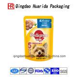 Aangepaste Tribune op De Verpakkende Zakken van het Voedsel voor huisdieren
