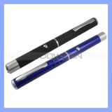 2 in 1 Laser Pointer Pen LED Fllashlight der Leistungs-30mw Green