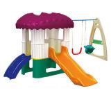 Скольжение Playsets малышей спортивной площадки комбинации пластичное (M11-09201)