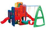 子供の演劇のゲームのプラスチックスライドの幼稚園の演劇の中心(M11-09109)