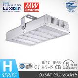 200W UL Dlc는 LED 칩 평균 우물 운전사를 가진 LED 산업 빛을 목록으로 만들었다