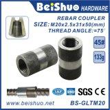 Coupleur d'amorçage de Rebar d'ajustage de précision de pipe d'acier du carbone