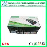 デジタル表示装置(QW-M3000UPS)が付いている情報処理機能をもったUPS 3000WのDC電源のコンバーター