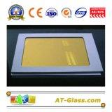 4、5、6、8、10mmの金24k反射ガラス上塗を施してあるまたは染められたガラス