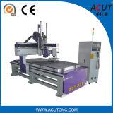 Деревообработка машины с ЧПУ с функцией автоматического устройства смены инструмента (ACUT-1325)
