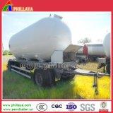 4 Eje tractor camión cisterna de la carga la barra de tiro de superficie plana Dolly remolque completa