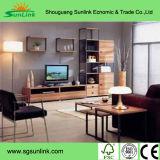 Alder muebles de madera de madera sólida de la cocina con granito natural Counteritp e inoxidable.