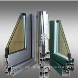 Estrutura de alumínio de janela
