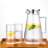 アメリカの鍋が付いている普及したガラス水差しのコーヒーメーカーのティーセット