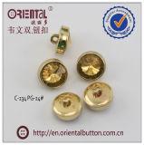 Acrylic operato Stone con ABS Shank Buttons