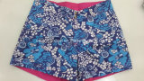 Signora modellata poliestere piano Board Short Swimwear della vita di Oeko-Tex
