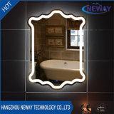Espejo ligero elegante decorativo del cuarto de baño LED del maquillaje del hogar moderno del hotel