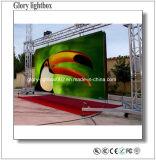 P12.5フルカラーLEDのビデオ・ディスプレイスクリーンのLED表示