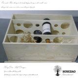 Hongdao vino de Madera personalizados de verificación de 6 botellas Wholesale_F