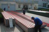 De chemische Fabriek gebruikte het Anticorrosieve GolfBlad van het upvc- Dakwerk