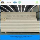 ISO, SGS одобрил панель сандвича Pur цвета 150mm стальную (Быстр-Приспособьте) для замораживателя холодной комнаты холодной комнаты