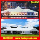 結婚披露宴のテニスコートの倉庫のためのアルミニウムフレームの多角形のテント