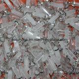 Halb kostbarer Stein-Form-spitzer Kristallanhänger