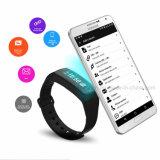 혈압을%s 가진 착용할 수 있는 접촉 단추 NFC 지능적인 팔찌 Hb06