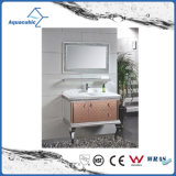 Mobilia di lusso della stanza da bagno dell'acciaio inossidabile di stile del nero della casa moderna della mobilia