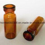 fiole 3ml en verre tubulaire ambre