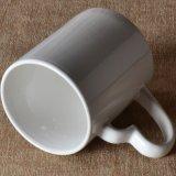 Tasse en céramique de vente Logo-Chaude faite sur commande avec le traitement de coeur