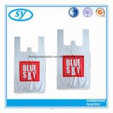 Le gilet remplaçable de HDPE/LDPE traite le sac à provisions en plastique