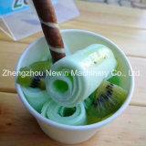Machine commerciale de crême glacée de friture de roulis de type de la Thaïlande