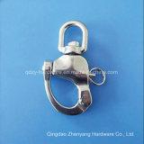 ステンレス鋼の目の旋回装置のスナップの手錠