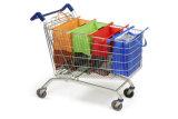 Einkaufen-Laufkatze-Beutel-Satz von 4 mit kühlerem Isolierbeutel