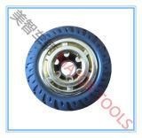 100/127/150/200 mm-feste Gummispielzeug-Räder