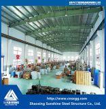 Costruzione della struttura d'acciaio per il magazzino d'acciaio prefabbricato