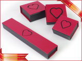 Papel rojo Joyero Cuadro Anillo de papel