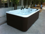 Monalisa STATION THERMALE extérieure de luxe acrylique de syndicat de prix ferme de bain de tourbillon de lucite des 4 Etats-Unis de mètre (M-3337)
