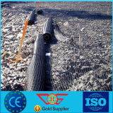Il Ce ha certificato il poliestere lavorato a maglia involucro ad alta resistenza Geogrid