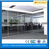 Partición de seguridad de la sala de pared de vidrio