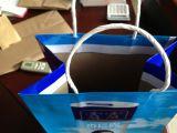Il boutique Carry Bag Machine di Feed della foglio con la Parte superiore-Fold e Tratta-Units
