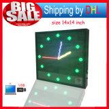 LED-Bildschirmanzeige-Anschlagtafel USB-Rolle-Zeichen-Bildschirmanzeige des Editable Stütztext-Firmenzeichen-Bild-farbenreiche LED