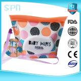 Il sacchetto pH di EVA ha equilibrato i Wipes naturali del bambino del commercio all'ingrosso di cura
