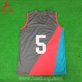 Healong a sublimé le basket-ball Jersey d'impression de chemise