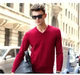 Collo del maglione V del cachemire degli uomini (13brdm001-3)