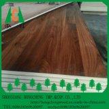 madera contrachapada laminada melamina de madera echada a un lado doble del color del grano de 18m m